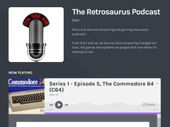 The Retrosaurus Podcast - C64