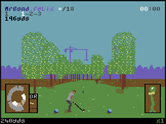 Top-hole Golf v1.5 - C64