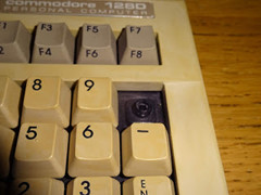 Tynemouth Software – C128 toetsenbord