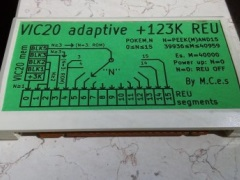 VIC20 +123K REU