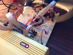 VIC-20 flash memory expansion