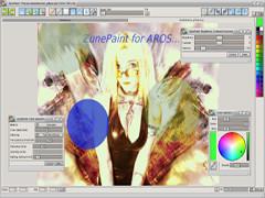 ZunePaint v0.14 - AROS