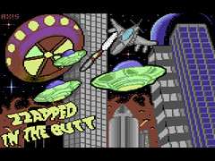 Zzapped in the Butt - Deluxe - C64